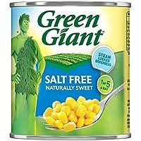 Green Giant Sin Sal maíz dulce 340 g (peso escurrido 285 g) (paquete de 12 x 340 g)