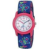 Timex Mädchen-Armbanduhr Analog Textil T89001