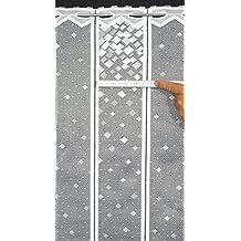 rideaux brise bise. Black Bedroom Furniture Sets. Home Design Ideas