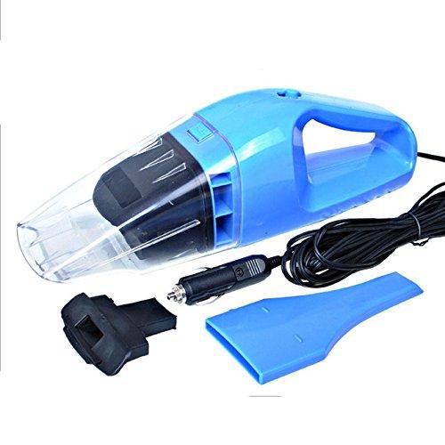 Preisvergleich Produktbild fomccu Auto-Staubsauger Portable Wet Dry Dual Use Auto Zigarettenanzünder Filter 100 W DC 12 V Blau