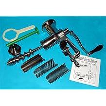 BL 30 Extractor de zumos Manual – De Acero Inoxidable, funciona SIN ELECTRICIDAD, incluye 3 filtros, recomendable para HIERBA DE TRIGO
