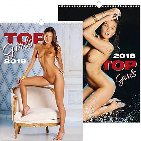 C154-18-19 Kalpa Calendrier mural 2018 Top Girls 31.5 x 45 cm 2018 + Acheter 1 Obtenir 1 gratuit Calendrier for 2019