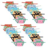 #7: Luke and Lilly New Born Baby Cotton Muslin Cloth Reusable Nappies,Cloth Diaper for 0-6 Months-20pcs