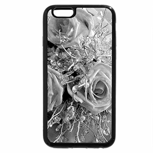 iPhone 6S Case, iPhone 6 Case (Black & White) - Biedermeier