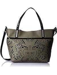 Gussaci Italy Women's Handbag (Taupe) (GUS153)