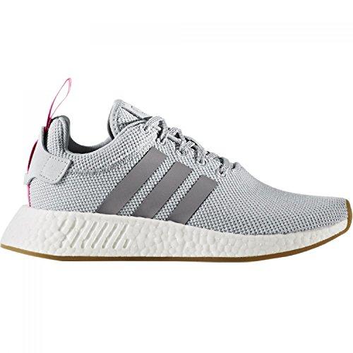 Adidas NMD_R2 W, Zapatillas de Deporte para Mujer, Rosa (Rosmar/Rosmar/Negbas),...