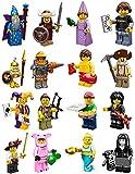 Lego 71007 Minifiguren Serie 12 - Komplettsatz - alle 16 Figuren