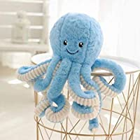 ‏‪Dongcrystal Octopus Stuffed Animals,Octopus Plush Toy Stuffed Marine Animal,15.7 Inches,Blue‬‏