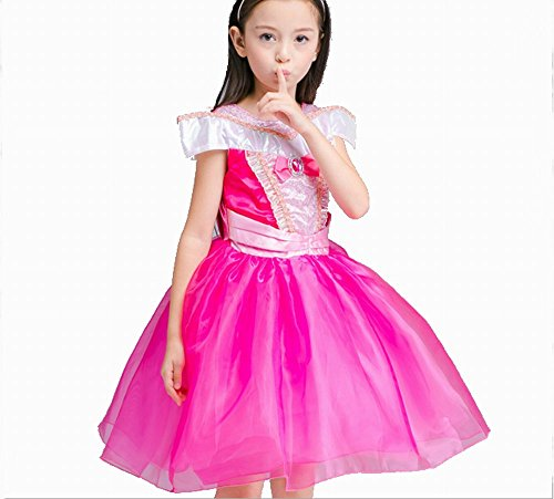Girl 's Princess Beauty Kostüm Kleid Drop Schulter, Cosplay Halloween Geburtstag Party Kleid Fancy Kleid