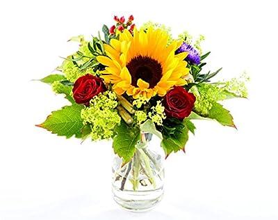 Blumenversand - Blumenstrauß versenden - zu jedem Anlass - Kleine Sonne - mit Gratis - Grußkarte zum Wunschtermin versenden von Der Renner - Blumenversand auf Du und dein Garten