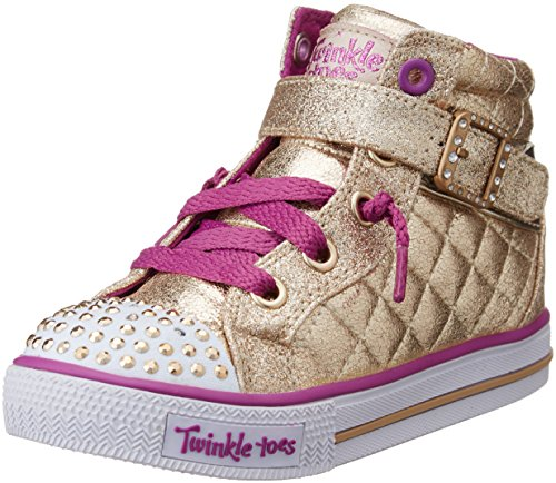 skechers-shuffles-sweetheart-sole-sneakers-hautes-filles-or-gld-or-23-eu