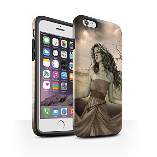 Officiel Elena Dudina Coque / Brillant Robuste Antichoc Etui pour Apple iPhone 6S / Princesse Design / Caractère Conte Fées Collection Notre Dame