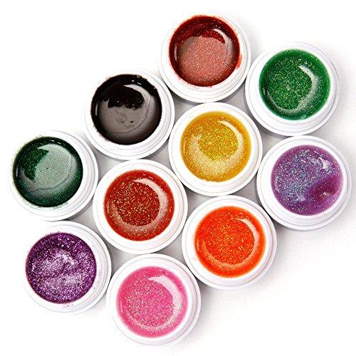 lot-de-10-pot-gels-uv-paillette-pr-ongles-faux-a-glitter-manucure