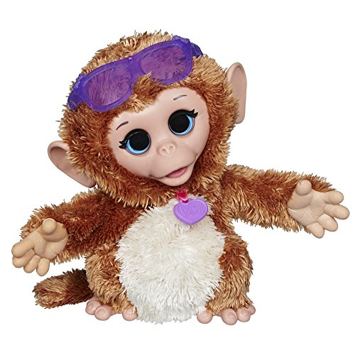 Mascota bebé de Peluche Cuddles My Giggly Monkey, de FurReal Friends