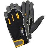 Ejendals Schnittschutzhandschuh Tegera 9121, Größe 9, 1 Stück, schwarz / grau / gelb, 9121-9