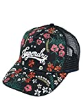 Superdry Damen Trucker Cap Embroidery schwarz Adjustable