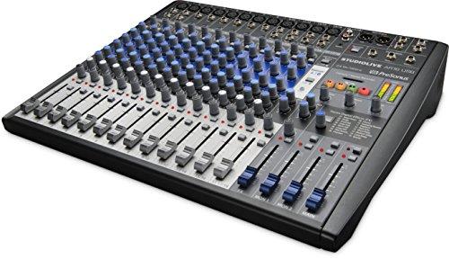 Presonus SLMAR16 Studio LiveAR16 USB 16-Channel Hybrid Performance & Recording Mixer (Recording-mixer Studio)