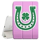FJCases Hufeisen Irisches Kleeblatt Glück (Hellrosa) Smart Cover Tablet-Schutzhülle Hülle Tasche + Auto aufwachen / Schlaf Funktion für Apple iPad Mini 4