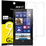 Pack de 2 Verre Trempé Nokia Microsoft Lumia 920, NEWC® Film Protection en Verre trempé écran Protecteur vitre ANTI RAYURES SANS BULLES D'AIR Résistant Dureté 9H pour Nokia Microsoft Lumia 920
