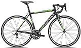 Legnano Ciclo 570 Corsa Lg36, Bici Uomo, Nero/Verde, 59