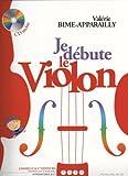 Je Débute le Violon Méthode Progresive Vol.1 + CD