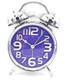 #6: Fun N Shop New Analog Double Twin Bell Alarm Clock (Silver)