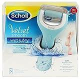 Scholl Velvet Smooth Wet&Dry Wiederaufladbarer Hornhautentferner - Seidig Weiche...