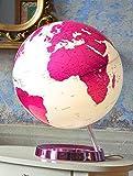 Leuchtglobus Standmodell, Light & Colour Hot Pink - 2