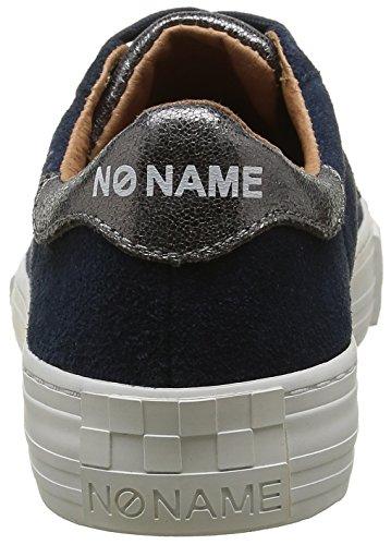 No Name Arcade, Baskets Basses Femme Bleu (Arcade Sneaker Suede Glow Navy Acier)