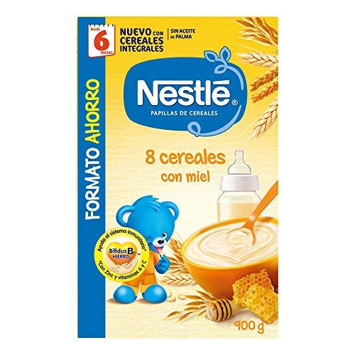 Nestlé Papillas - 8 cereales con Miel