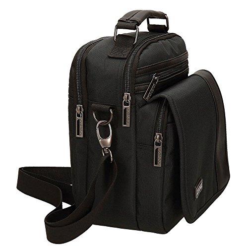 Movom borsa a tracolla, 25 cm, 6 liters, Marrone Nero