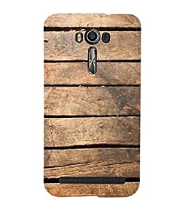 ifasho Designer Back Case Cover for Asus Zenfone 2 Laser ZE601KL (6 Inches) (Search Engines You Por N Wood Table)
