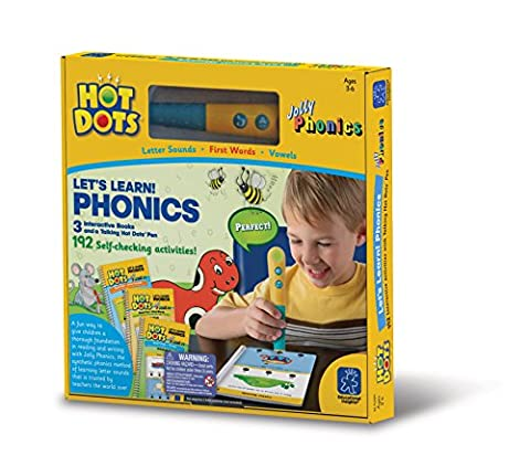 Learning Resources Hot Dots Let's Learn Phonics