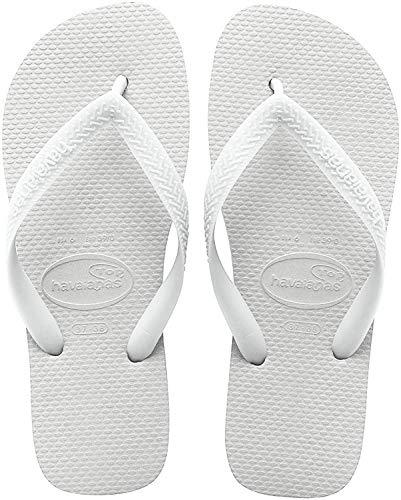 Havaianas Top, Chanclas Unisex Adulto, Blanco White, 35/36 EU