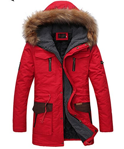 CRAVOG - Manteau - Parka - Homme red