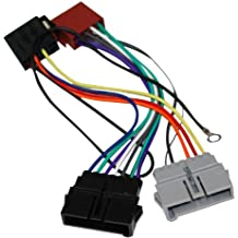 AERZETIX: Adaptador AK7 con ISO cables enchufes para autoradio