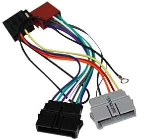 AERZETIX: Adaptateur fiche ISO AK7 câble convertisseur fiche faisceau pour autoradio AL compatible avec Chrysler 300M Cherokee Grand Voyager Neon Cruiser Stratus Vision Wrangler Jeep - C1902