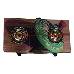 Suraksha Shine 2 burner Gas Stove Cook Top