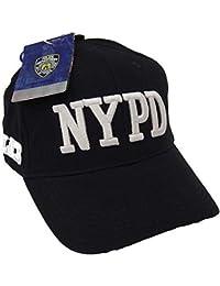 Anti Crime Security NYPD Gorra de béisbol Gorro con Licencia Oficial por el  Nuevo York Departamento 01f6c99203a