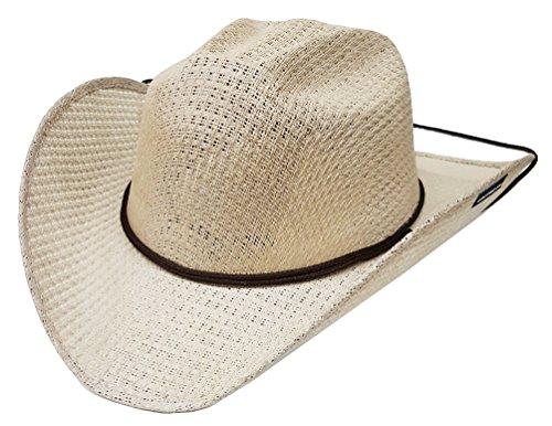 modestone-unisex-straw-cappello-cowboy-chinstring-beige