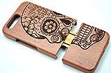 RoseFlower Huawei Ascend Honor 9 Holzhülle - Palisander Schädel - NatürlicheHandgemachteBambus / Holz Schutzhülle