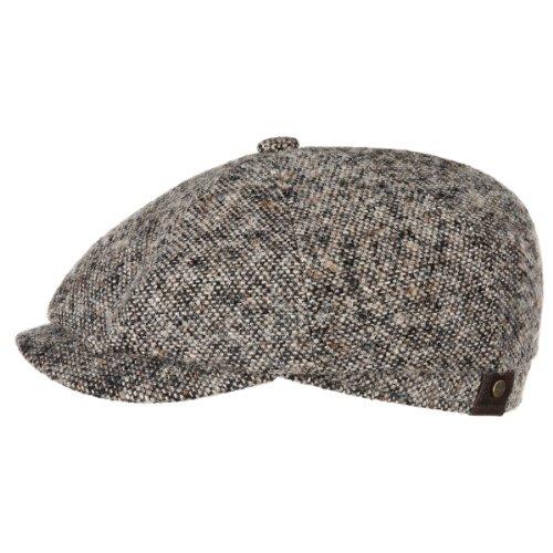 casquette-hatteras-tweed-stetson-tweed-59-cm-beige