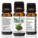 BioFinest ätherisches Premium Bio-Öl aus 100% grünem Tee für Aromatherapie und zur Förderung der Fettverbrennung mit Anti-Oxidantien