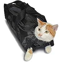 Anself Katze Pflege Tasche Cat Grooming Bag für Baden und Putzen