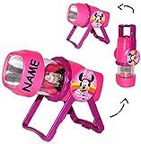 "3 in 1: Kombi - Taschenlampe LED - "" Disney Minnie Mouse "" - incl. Namen - als Tragelampe oder"