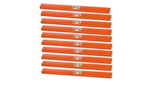 BAHCO MEDIUM CARPENTERS PENCIL PACK OF 10 PENCILS