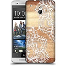 Official Micklyn Le Feuvre Mandala On Wood Hard Back Case for HTC One mini