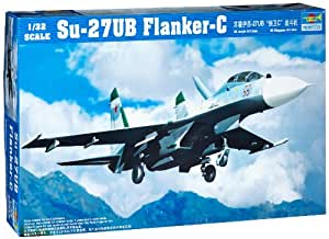 1/32 Su27UB Flanker C Aircraft TSM2270