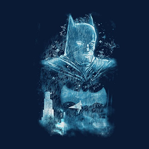 There Will Be Blood Batman Rain Women's Hooded Sweatshirt Navy Blue