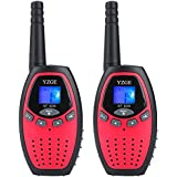 Yzge Walkytalky 22-Channel FRS/Gmrs Radio,3 Mile Range Two Way Radios With LCD Screen, The Best Gift